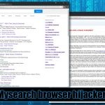 Mysearch virus screenshot