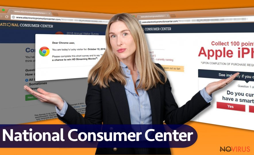 National Consumer Center ads