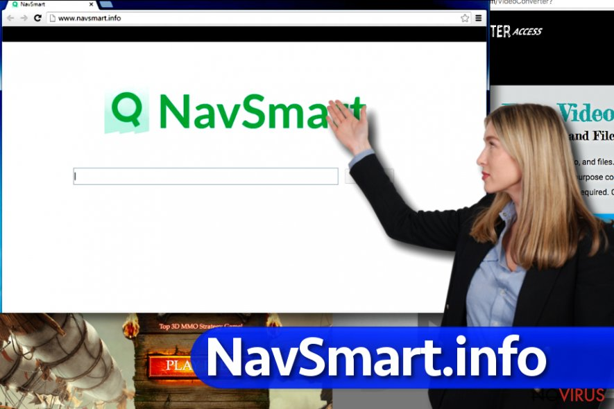 NavSmart.info virus screenshot