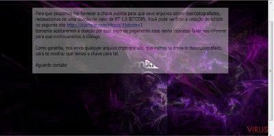 NMoreira ransomware virus