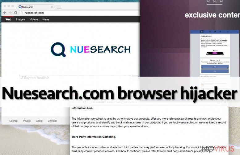 the picture of Nuesearch.com browser hijacker