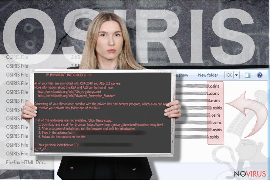 Osiris virus screenshot