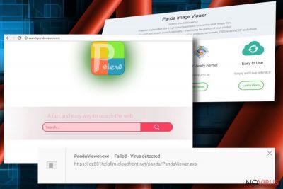 Search.pandaviewer.com virus example