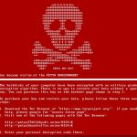 Petya virus screenshot