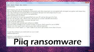 Piiq file virus