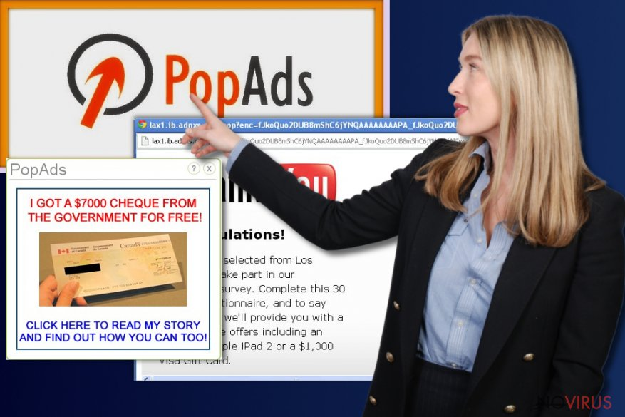PopAds pop-up virus