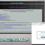 Crypton ransomware relies on Ransomed india email