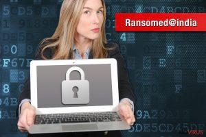 Ransomed@india ransomware