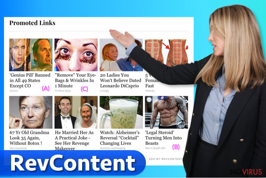 Example of RevContent advertisements