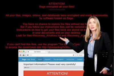 Sage ransomware