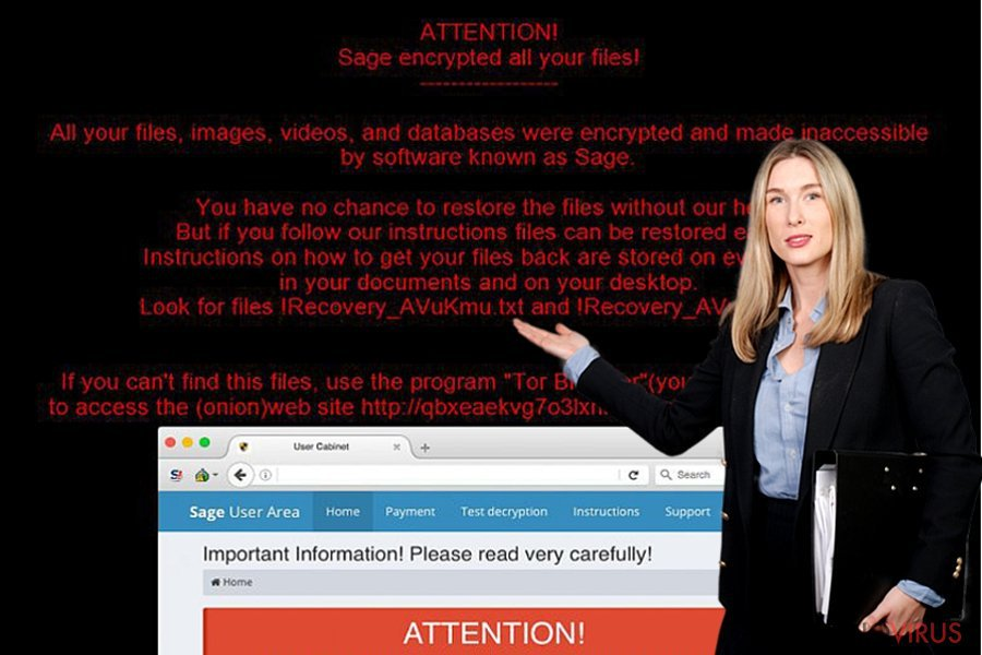 Sage ransomware