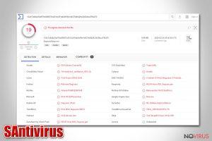 SAntivirus removal guide