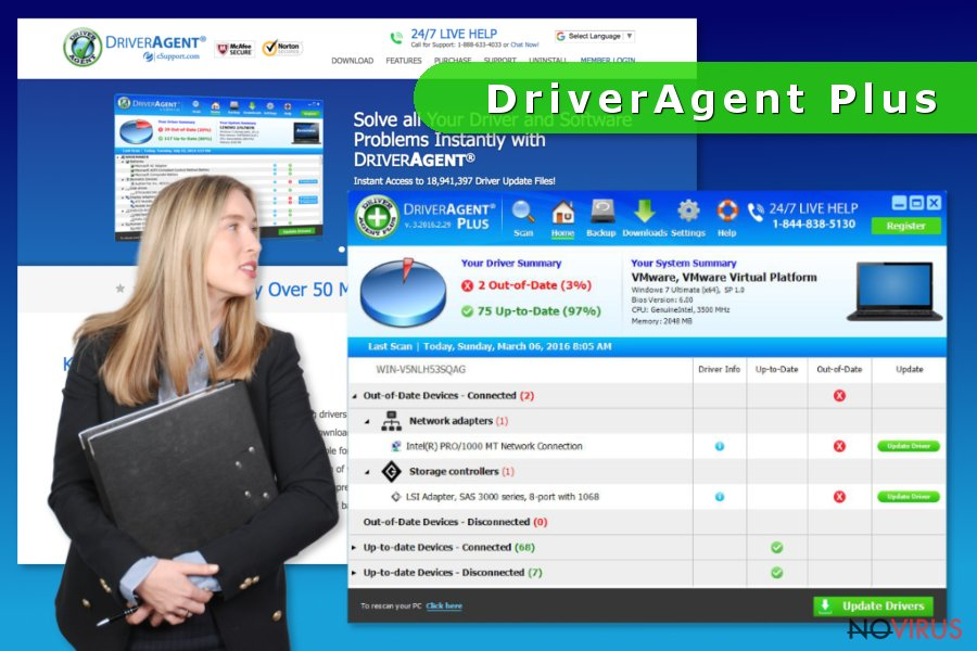 DriverAgent Plus software