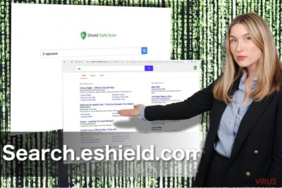 The image of eShield Search