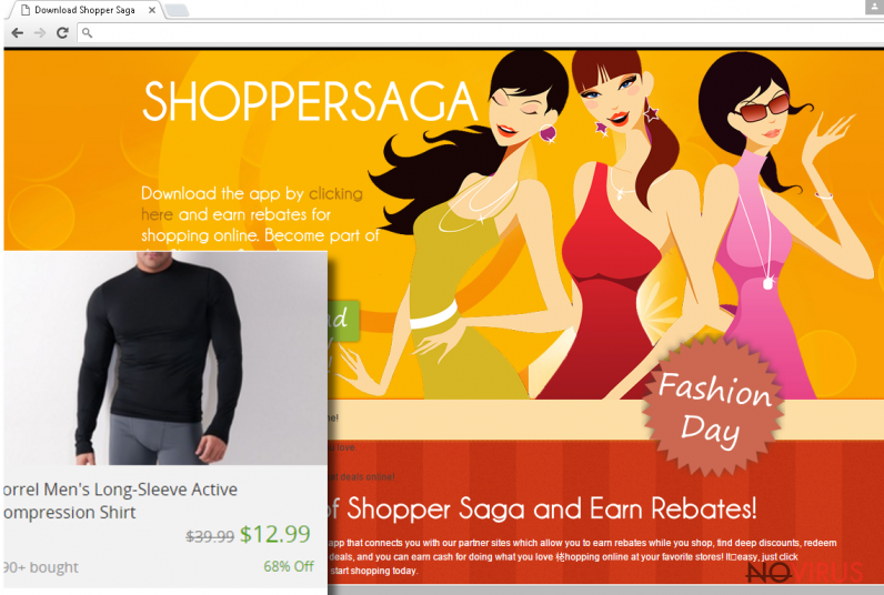 The picture of ShopperSaga ads
