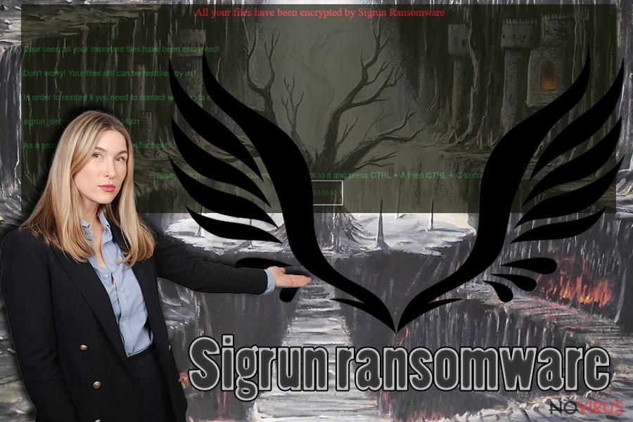Sigrun ransomware illustration