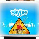 Skype virus screenshot