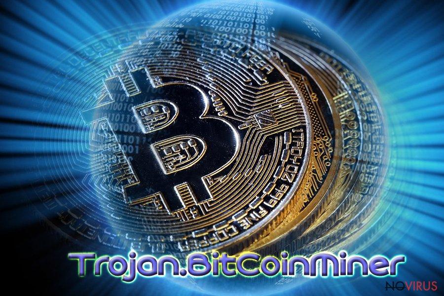 Bitcoin virus screenshot