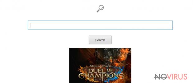 Trovigo.com redirect screenshot