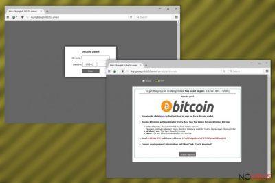 UIWIX ransomware website