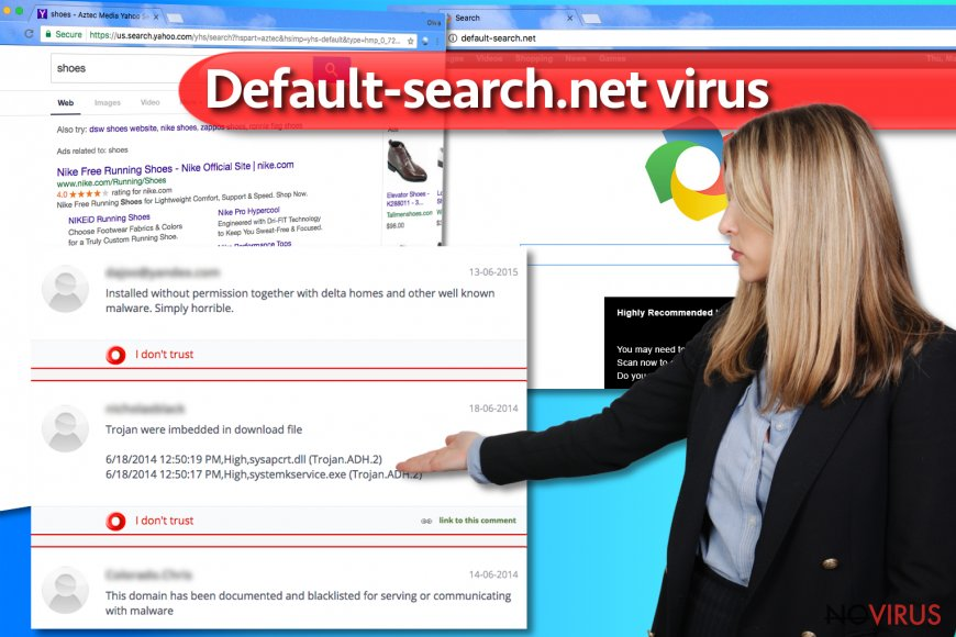 Default-search.net attack