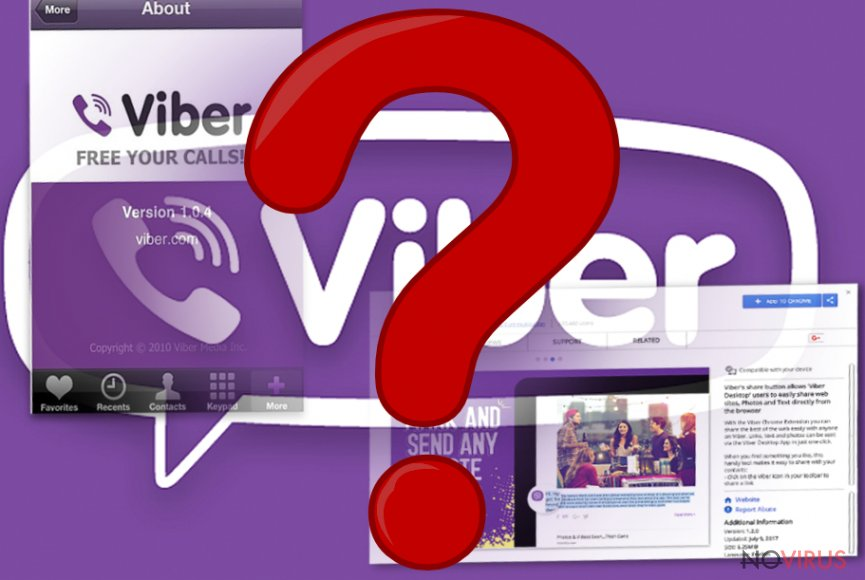 The picture of Viber