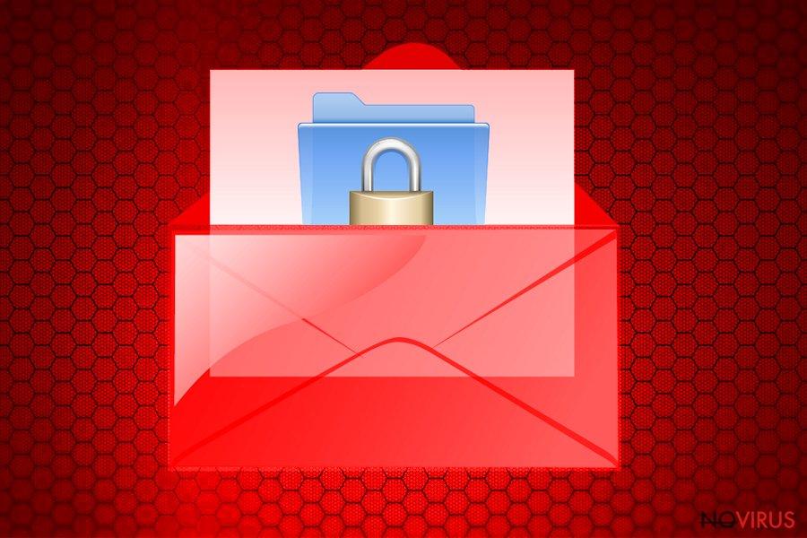 Wallet virus screenshot