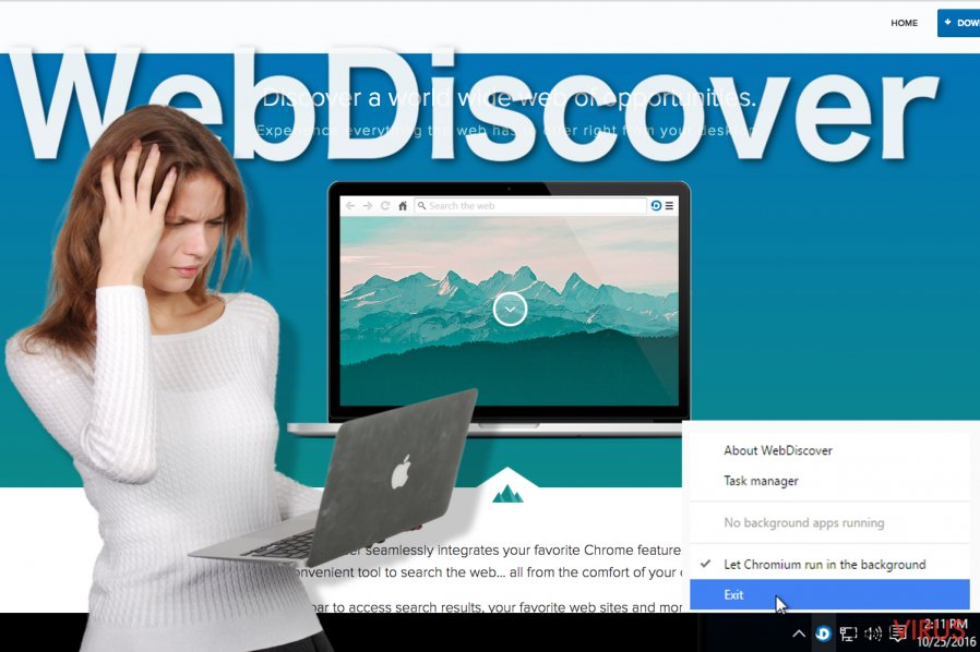 WebDiscover Browser