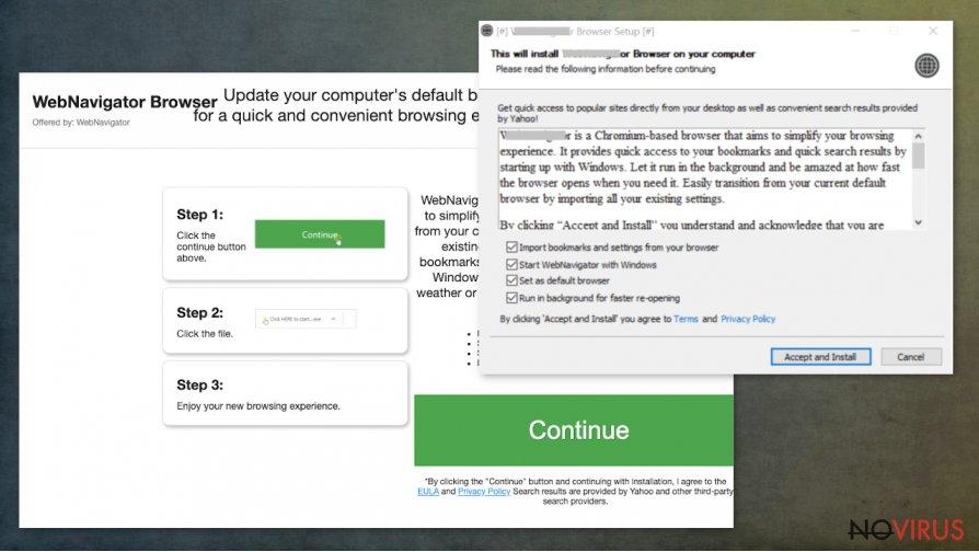 WebNavigatorBrowser virus