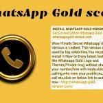 WhatsApp malware screenshot
