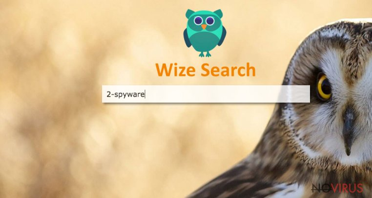the picture of Wize Search virus