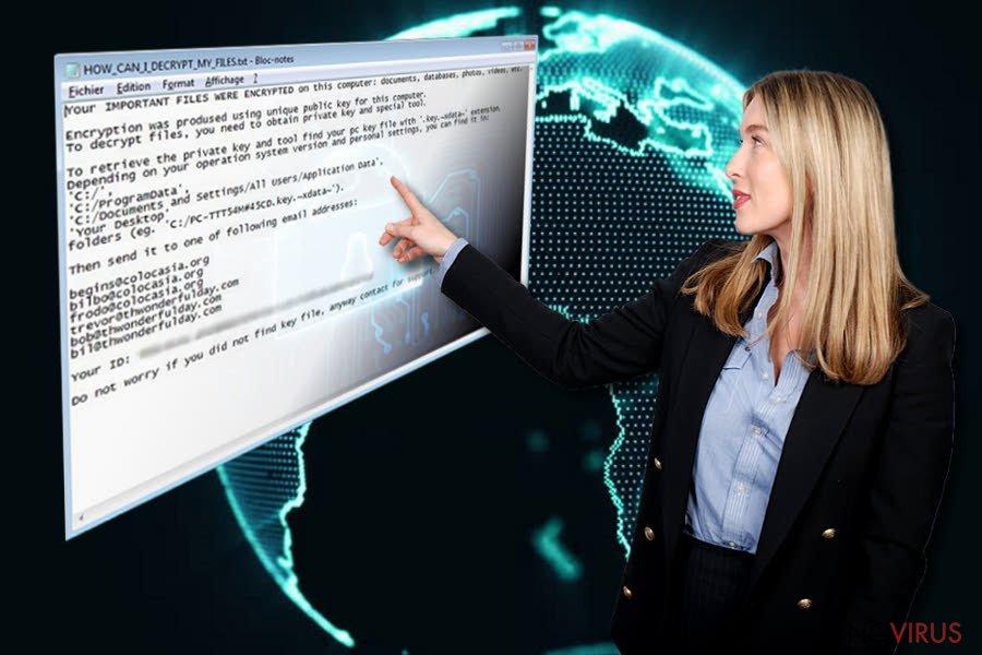Xdata ransomware virus