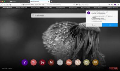 Yahoo Toolbar