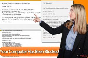 Your computer has been blocked
