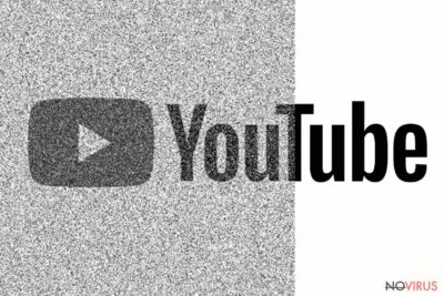 The picture of YouTube virus